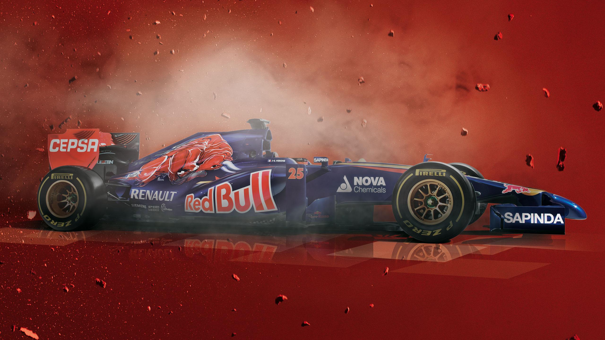 Formula 1. Presentacion Scuderia Toro Rosso. Cepsa. 2014.